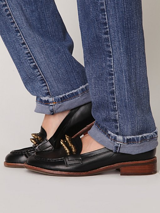 Jeffrey Campbell Spiked Loafer in Loafers