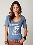 Brooklyn Cycling Tee