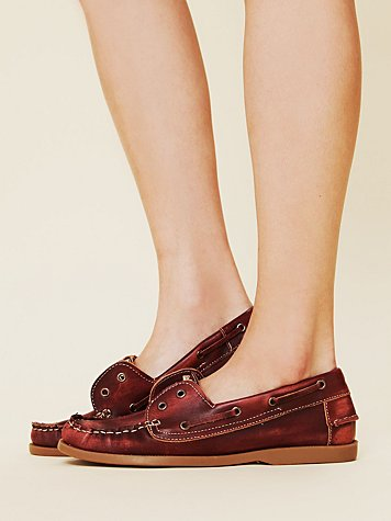 Mainland Studded Boatshoe