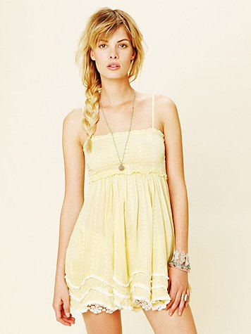 Intimately Free People Waves Hem Slip