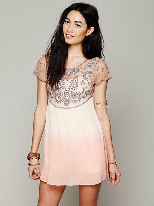 Free People Embellished Palms Tunic in tops