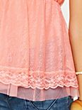All Over Lace Babydoll Top