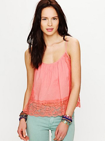 Free People Outskirts Lace Cami