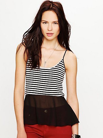 Free People Ballet Dancer Tank