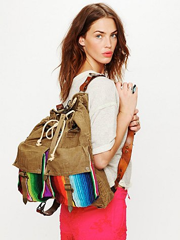 Free People Belize Pocket Tote