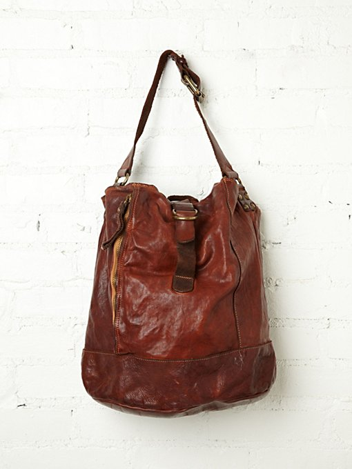 Tristo Leather Tote