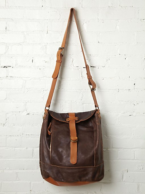 Campomaggi Tristo Leather Tote in handbags