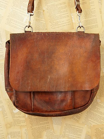 Free People Vintage Loves American Tradition 1965 Mail Bag