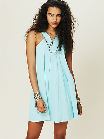 Free People FP ONE Twiggy Embellished Dress