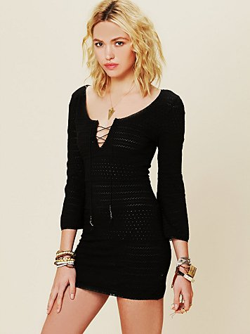 Free People Amethyst Knit Tunic