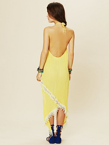 Hi Rise Halter Dress