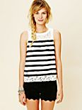Lace Sailor Tank