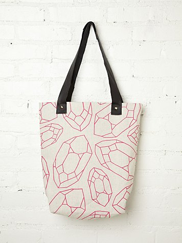 Eco-Friendly Printed Tote