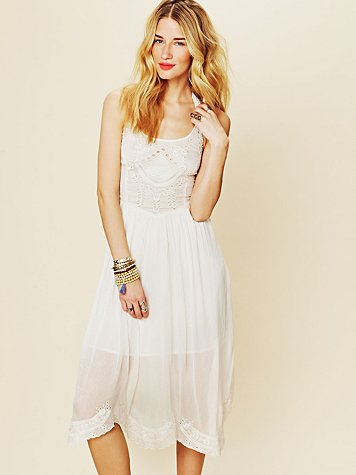 Free People FP New Romantics Captured Sunshine Dress