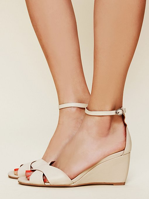 Jeffrey Campbell Dayton Mini Wedge Sandal in High-Heels