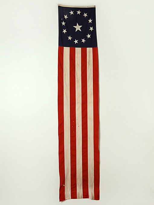 Vintage 50 Stars American Ship Flag  in vintage-loves-objects