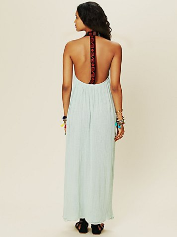 T and B Gauze Coastal Dress