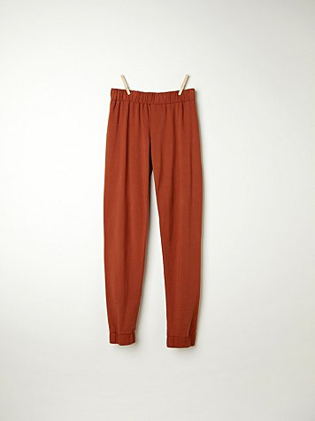 Fleece Tailored Sweatpant
