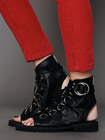 Trekker Lace Up Bootie