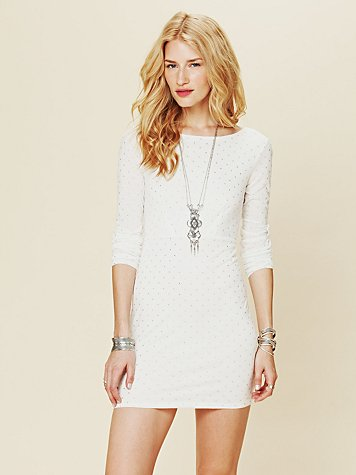 Free People Moonshine Long Sleeve Dress