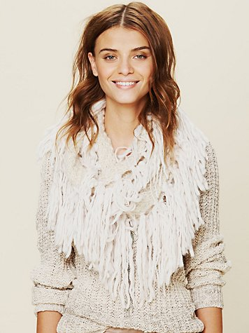 Free People Raggy Fringe Scarf