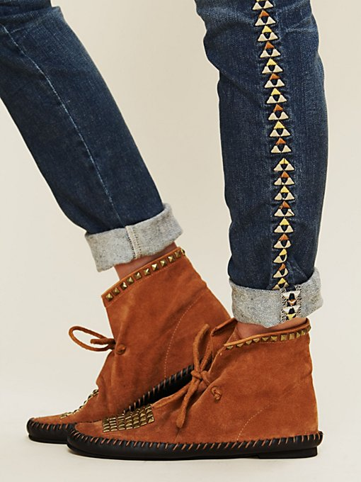 Union Stud Moccasin