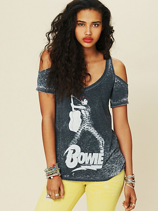 Bowie Cold Shoulder Tee