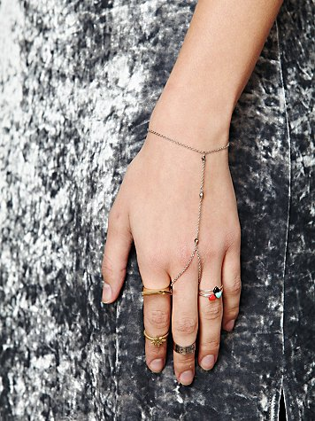Free People Delicate Chain Handpiece