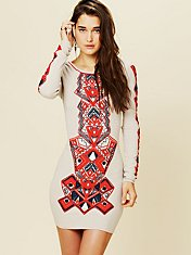 Aztec Princess Bodycon