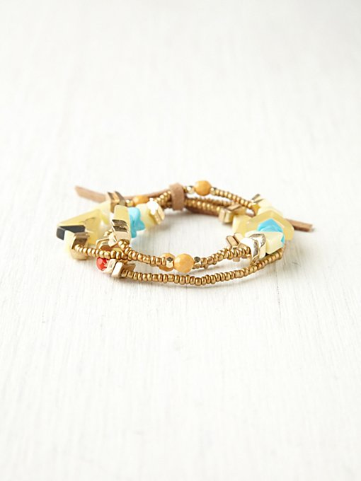 Triangle Bead Bracelet