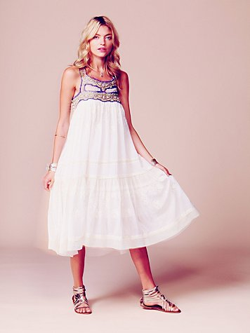 Free People Kristal's Limited Edition White Summer Dress