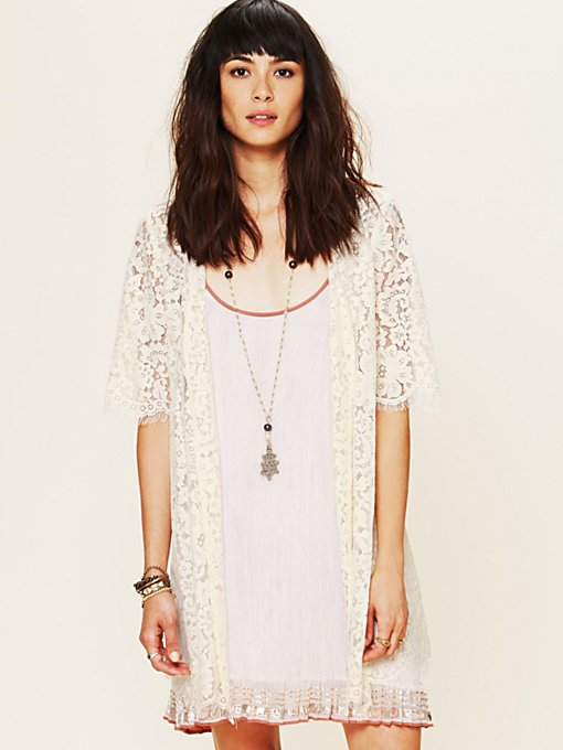 Harvard Lace Robe in soft-jackets