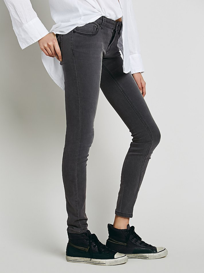 Lightweight Stretch Skinny at Free People