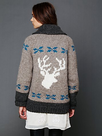 Always a Deer Cardigan