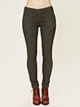 Herringbone Stretch Seamed Legging