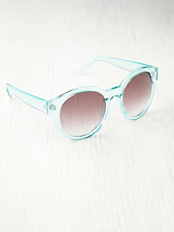 Free People Marlo Round Sunglasses