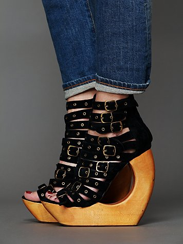Jeffrey Campbell Rockley Cut Out Wedge
