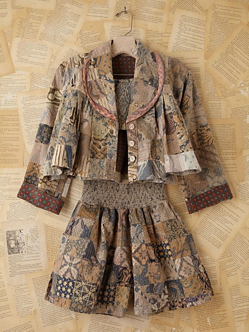 Vintage Batik Printed Three-Piece Set in Vintage-Loves-dresses