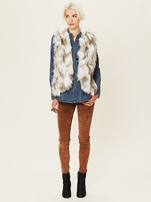 Call Of The Wild Fur Vest
