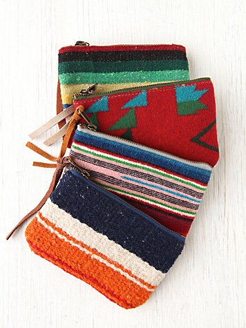 Serape Change Purse