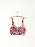 Ethnic Printed Crop Bra