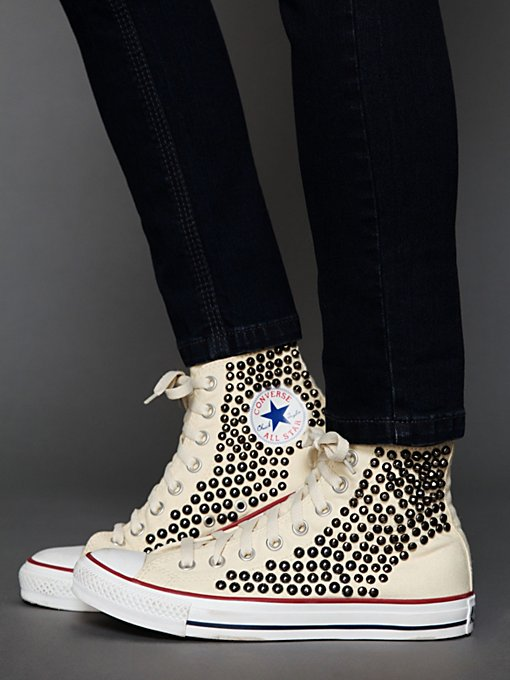 Tommy Studded Chucks in Walking-in-a-Winter-Wonderland