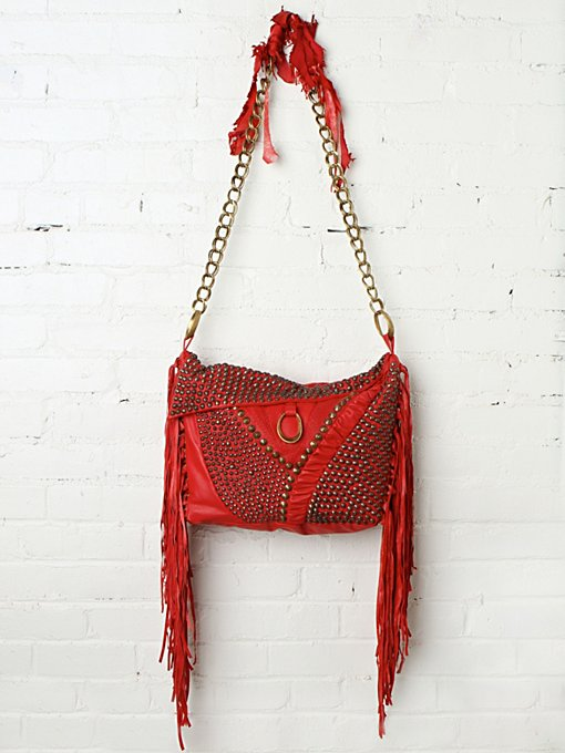 Harrow Studded Hobo in whats-new-shop-by-girl
