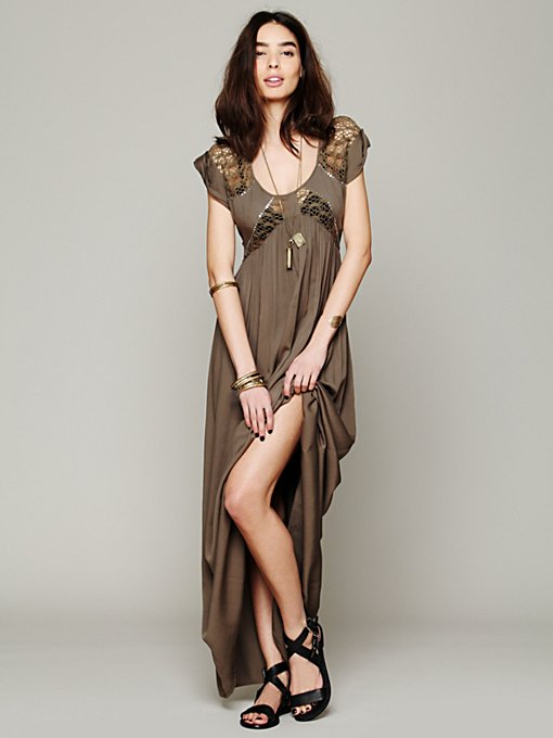 San Jose Maxi Dress in knit-jersey