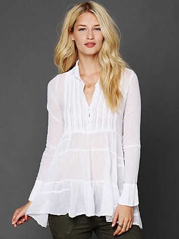 Free People FP One Tuxedo Tunic