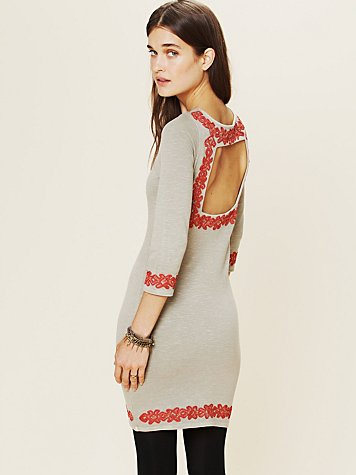 Free People Dream of Egypt Mini Dress