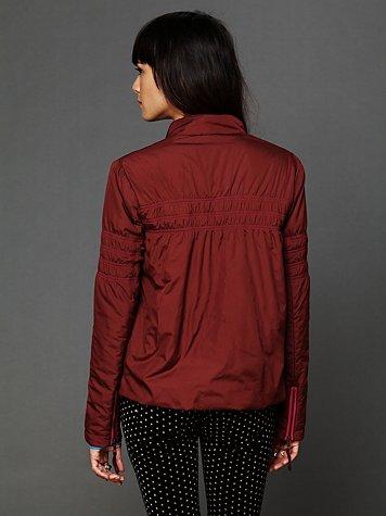 Nylon Swing Puffer Jacket