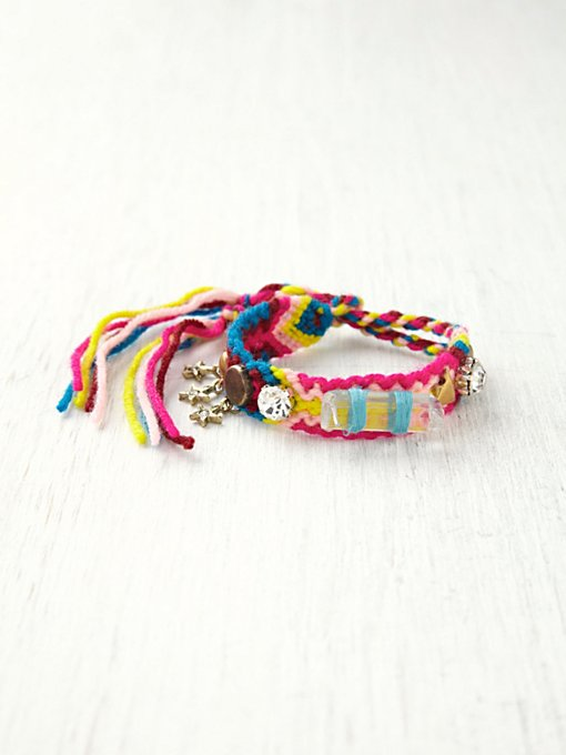 Free People Studded Friendship Bracelet in jewelry
