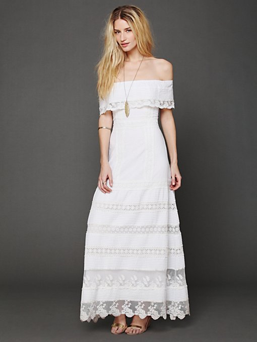 Looks Like An Angel Maxi Dress