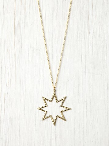 Free People Supernova Pendant